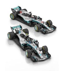 Μινιατούρα Formula 1 Valtteri Bottas 2018
